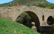 : Passant pel pont de les Merites  Xavi