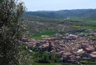 : Vista del poble de Torà  Xavi