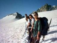 Aneto: Passant per la glacera de  l'Aneto