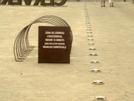 Cervera: Detall p. Universitat  Josep Gatnau Grau
