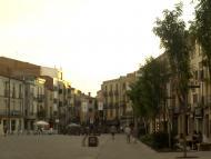 Cervera: Plaça Universitat  Josep Gatnau Grau