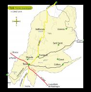 mapa del terme municipal