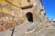 Vilanova de l'Aguda: Portal d'accés  Ramon Sunyer