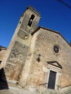 Vallmanya: Església de Sant Pere  Isidre Blanc