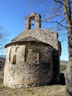 Vallmanya: Església de Sant Miquel  Isidre Blanc