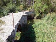 Ribelles: Pont del Llobregós  Isidre Blanc