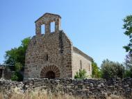 Vilanova de l'Aguda: Santa Maria de les Omedes  Isidre Blanc