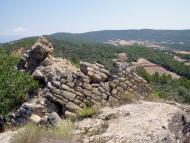 Vilanova de l'Aguda: Castell de Valldàries  Isidre Blanc