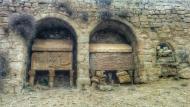 Lloberola: sarcòfags dels Sacirera  Ramon Sunyer