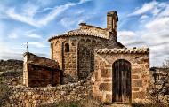 Les Cases de la Serra: Església Sant Pere de mas Pujol  Montse Fornells