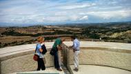 Ivorra: mirador de la torre  Ramon Sunyer