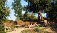 Vicfred: Pou de Madern zona de descans  Ramon Sunyer