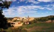 Claret: vista del poble  Ramon Sunyer