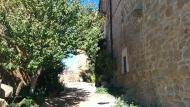 Sant Serni: detall carrer  Ramon Sunyer