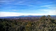 Lloberola: vista del Montsec  Ramon Sunyer