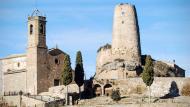 Lloberola: Església Sant Miquel i torre  Ramon Sunyer