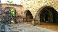 Cellers: entrada del monestir  Ramon Sunyer