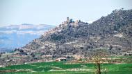 Ribelles: vista amb el montsec  Ramon Sunyer