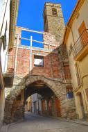 Vilanova de l'Aguda: portal i Campanar Sant Andreu   Ramon Sunyer
