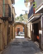 Sanaüja: Portal dels escots  Ramon Sunyer
