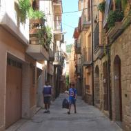 Sanaüja: Carrer dels escots  Ramon Sunyer