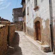 Sanaüja: Carrer del Calvari  Ramon Sunyer