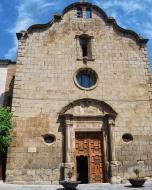 Sanaüja: Església Santa Maria de la Plaça  Ramon Sunyer