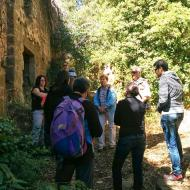 Vallferosa: visita  Ramon Sunyer