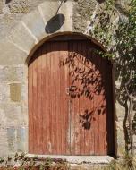 Llobera: porta  Ramon Sunyer