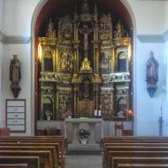 Hostal Nou: Retaule de sant Martí de Llanera  Ramon Sunyer