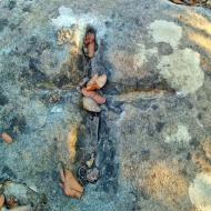 L'Aguda: marca a la roca  Ramon Sunyer