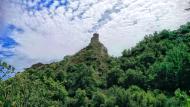 Castellfollit de Riubregós: torre del castell  Ramon Sunyer