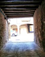 Castellfollit de Riubregós: pas cobert  Ramon Sunyer