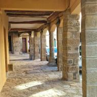 Castellfollit de Riubregós: Porxos  Ramon Sunyer