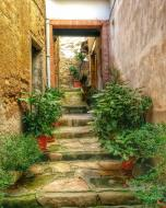 Castellfollit de Riubregós: carrer  Ramon Sunyer