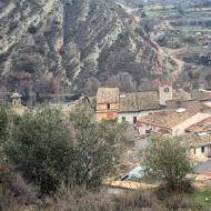 Sanaüja: poble  Ramon Sunyer