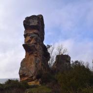 Oliola: castell  Ramon Sunyer