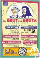 cartell El Brut i la Bruta 2017