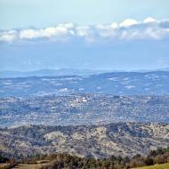 l'Aguda: Vista des de Conill  Ramon Sunyer
