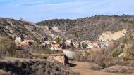 Castellfollit de Riubregós: vista sud del poble  Ramon Sunyer