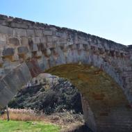 Sanaüja: pont medieval  Ramon Sunyer