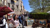 Torà: Brocanters a la plaça de la Font  Ramon Sunyer