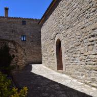 Prades de la Molsosa: Església de sant Ponç  Ramon Sunyer