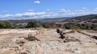 Biosca: Jaciment romà de Puig_Castellar  Ramon Sunyer