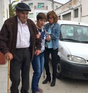Torà: El Josep de cal Pelegrí també ha volgut votar  Xavi Sunyer