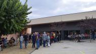 Torà: cues per votar a la tarda  Ramon Sunyer