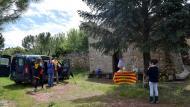 Castellfollit de Riubregós: Avituallament a l'Ermita de Marçà  Ramon Sunyer