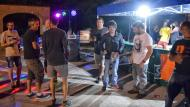 Torà: Revetlla a la plaça de la Font  Ramon Sunyer