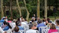 Sanaüja: Actuació de Ramon Porta  Ramon Sunyer