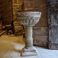 Cellers: pica baptismal  Ramon Sunyer